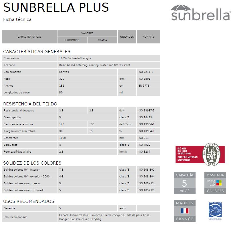 FT-Sunbrella Plus-Es